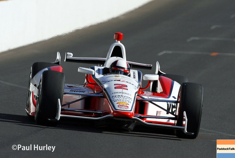 May 18:  Juan Montoya during qualifications for the Indianapolis 500.