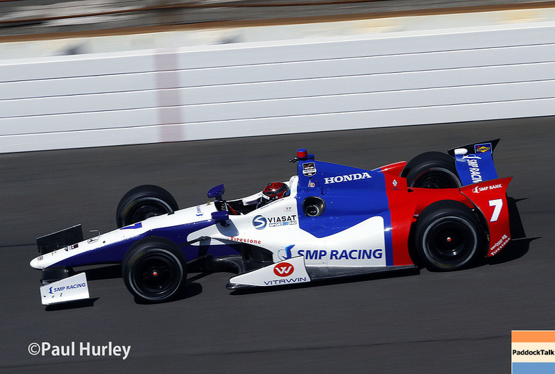 May 23: Mikhail Aleshin during qualifications for the 98th Indianapolis 500.