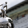 May 17:  Borg-Warner trophy during qualifications for the Indianapolis 500.