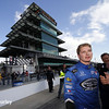 May 17:  Josef Newgarden during qualifications for the Indianapolis 500.