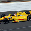 May 23: Ryan Hunter-Reay during qualifications for the 98th Indianapolis 500.
