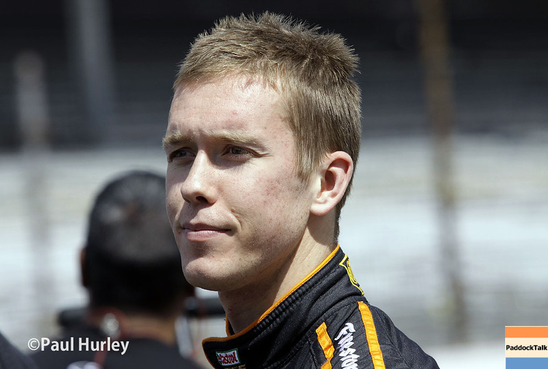 May 17: Jack Hawksworth during qualifications for the Indianapolis 500.