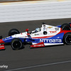 May 23: Ryan Briscoe during qualifications for the 98th Indianapolis 500.