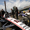 May 17: Will Power's car during qualifications for the Indianapolis 500.