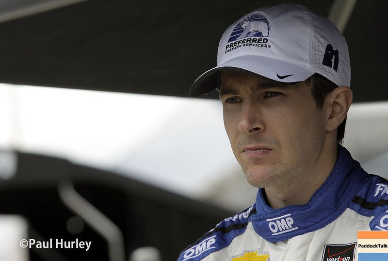 May 17: JR Hildebrand during qualifications for the Indianapolis 500.