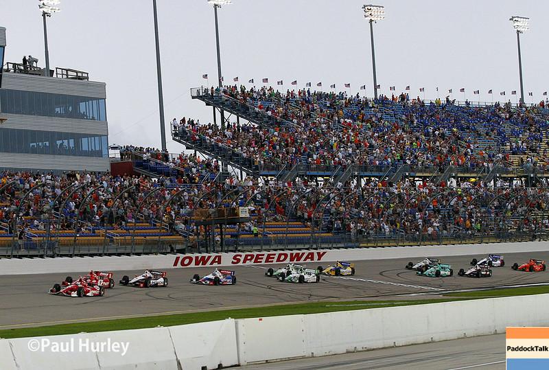 July 12: Race start at the Iowa Corn Indy 300.