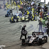 July 12: Pit stops at the Iowa Corn Indy 300.