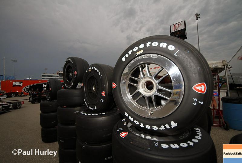 July 11: Firestone tires at the Iowa Corn Indy 300.