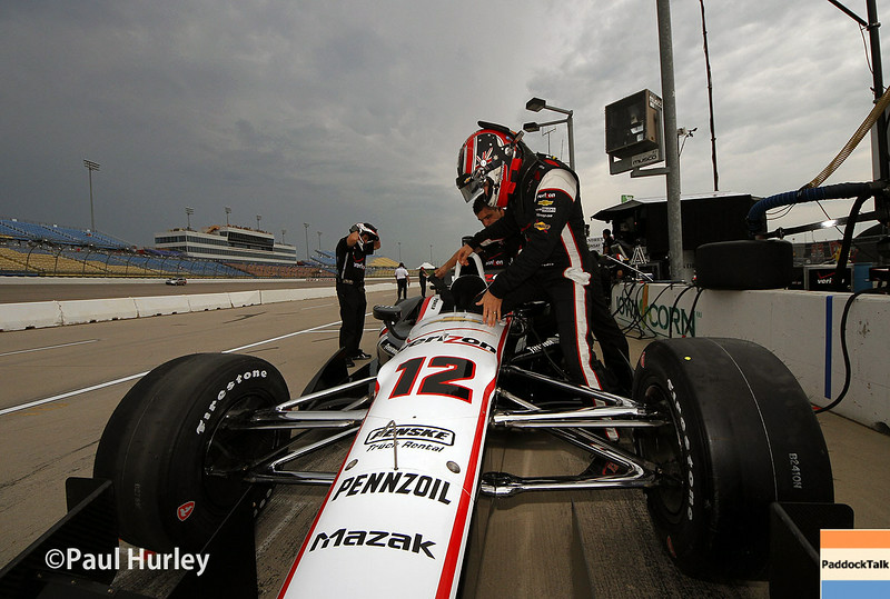 July 11: Will Power at the Iowa Corn Indy 300.