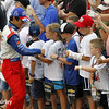 July 12: Takuma Sato at the Iowa Corn Indy 300.