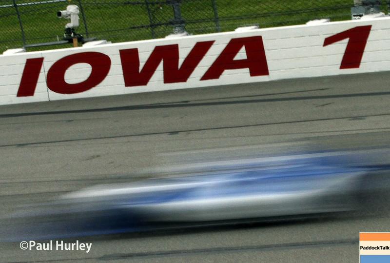July 11: Iowa Turn 1 at the Iowa Corn Indy 300.