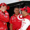July 11: Scott Dixon and Tony Kanaan at the Iowa Corn Indy 300.