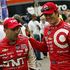 July 12: Tony Kanaan, Scott Dixon at the Iowa Corn Indy 300.