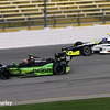 July 11: Jack Hawksworth and Josef Newgarden at the Iowa Corn Indy 300.