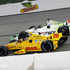 July 12: Ryan Hunter-Reay, Sebastien Bourdais at the Iowa Corn Indy 300.