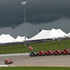 July 12: Storm clouds at the Iowa Corn Indy 300.