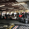 July 11: Helio Castroneves' garage at the Iowa Corn Indy 300.