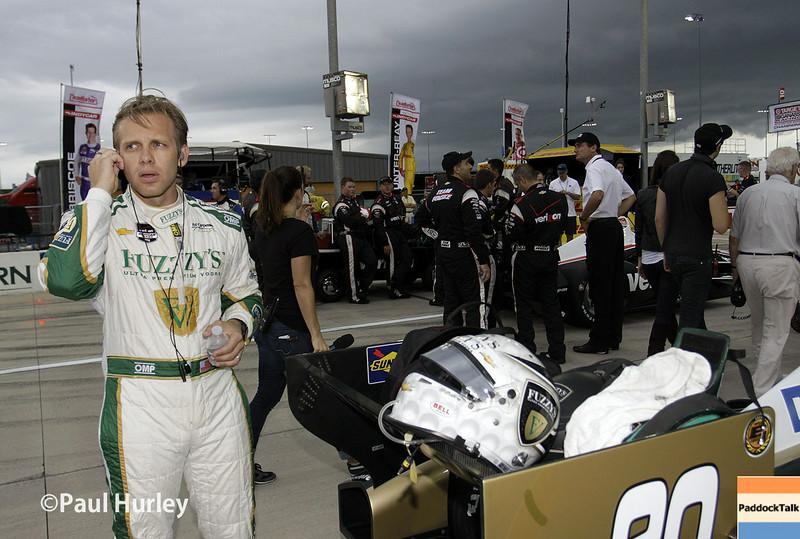 July 12: Ed Carpenter at the Iowa Corn Indy 300.