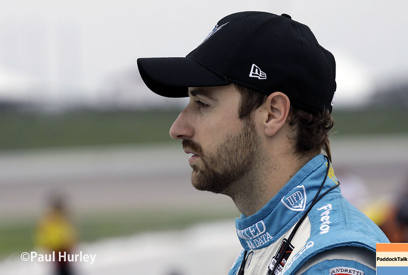July 11: James Hinchcliffe at the Iowa Corn Indy 300.