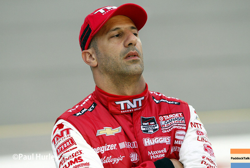 July 12: Tony Kanaan at the Iowa Corn Indy 300.