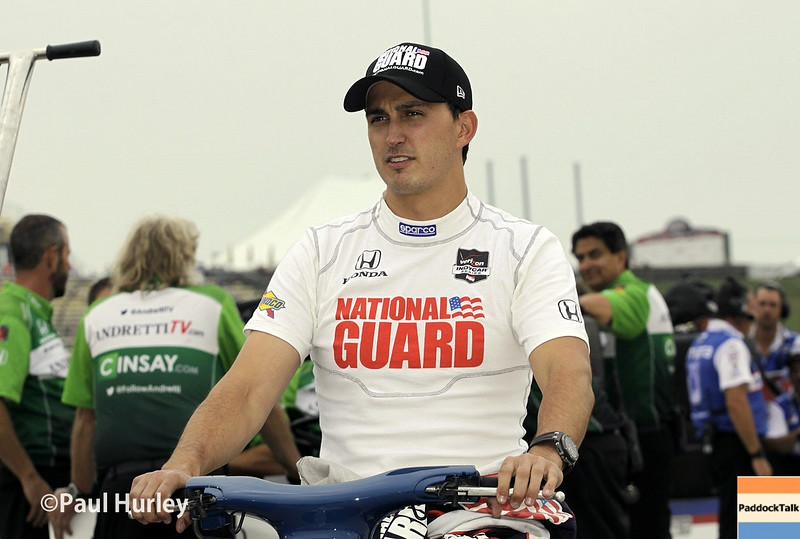 July 11: Graham Rahal at the Iowa Corn Indy 300.