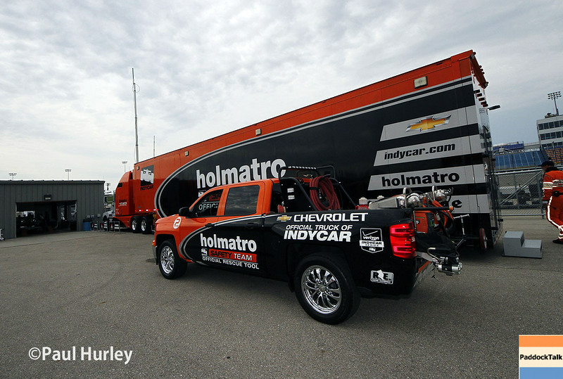 July 11: Team Holmatro at the Iowa Corn Indy 300.