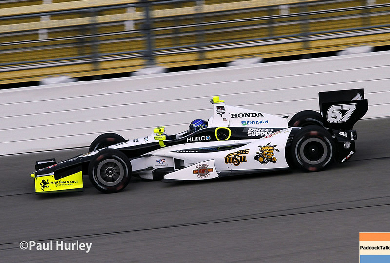 July 11: Josef Newgarden at the Iowa Corn Indy 300.