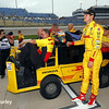 July 11: Ryan Hunter-Reay and team at the Iowa Corn Indy 300.