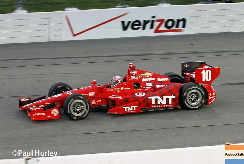 July 12: Tony Kanaan at the Iowa Corn Indy 300.