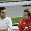 July 11: Carlos Huertas and Sebastian Saavedra at the Iowa Corn Indy 300.