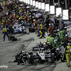 July 12: Pit lane at the Iowa Corn Indy 300.