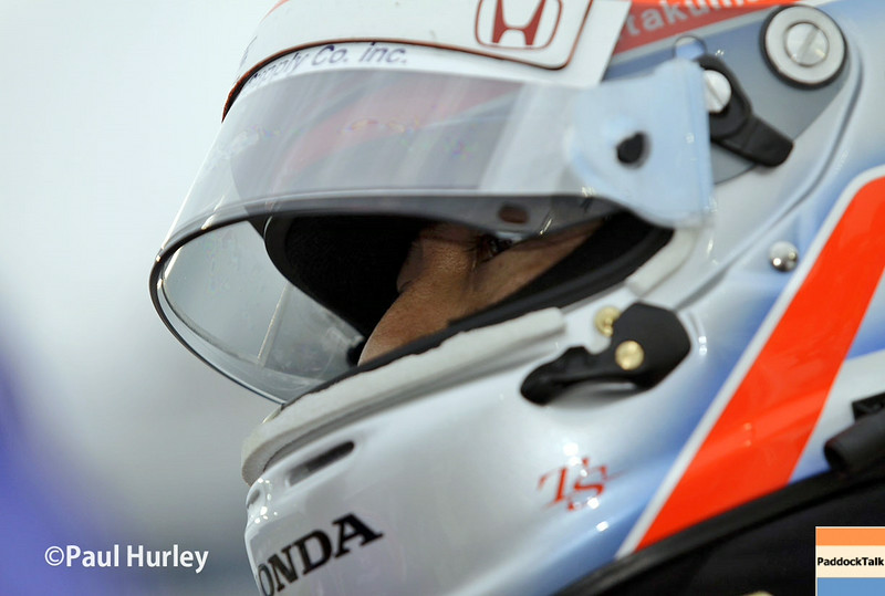 July 11: Takuma Sato at the Iowa Corn Indy 300.