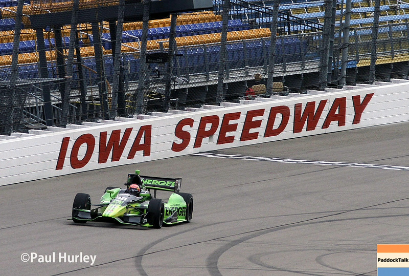 July 11: Jack Hawksworth at the Iowa Corn Indy 300.