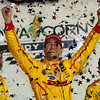 July 12: Ryan Hunter-Reay, winner, at the Iowa Corn Indy 300.