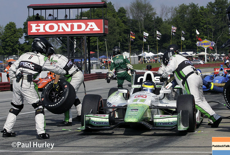 August 1-3: Sebastien Bourdais at the Honda Indy 200 at Mid-Ohio.