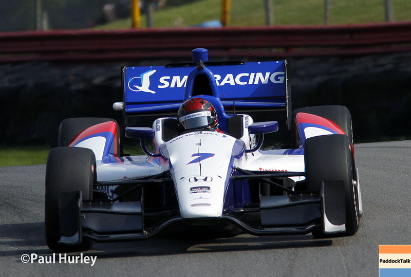 August 1-3: Mikhail Aleshin at the Honda Indy 200 at Mid-Ohio.