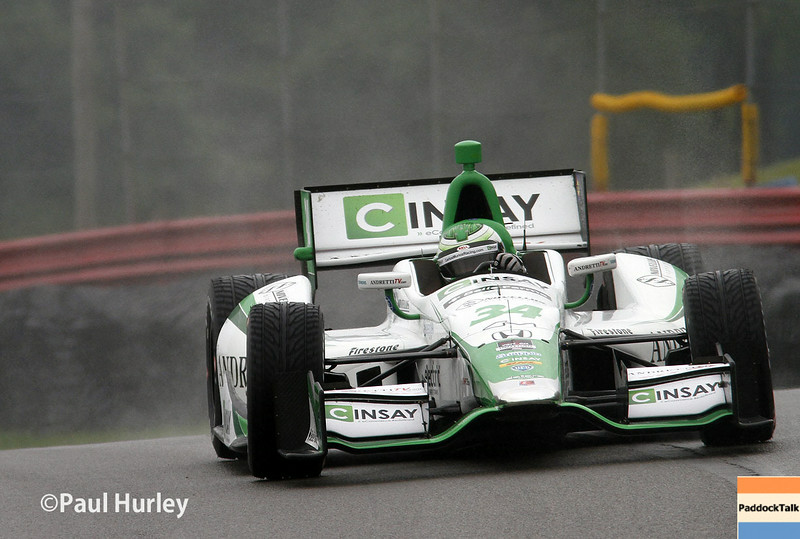 August 1-3: Carlos Munoz at the Honda Indy 200 at Mid-Ohio.