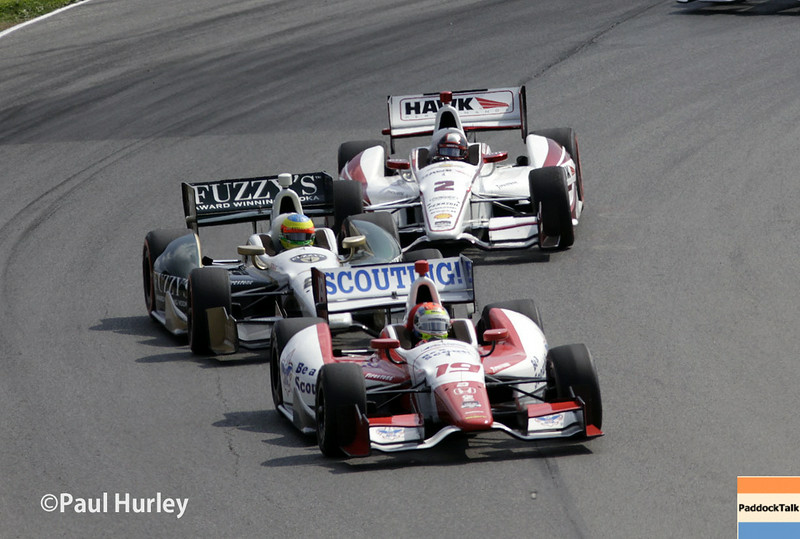 August 1-3: Track action at the Honda Indy 200 at Mid-Ohio.