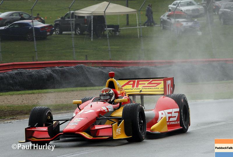 August 1-3: Sebastian Saavedra at the Honda Indy 200 at Mid-Ohio.