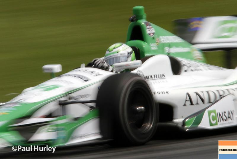 August 1-3: Carlos Munoz at the Honda Indy 200 at Mid-Ohio.