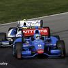 August 1-3: Ryan Briscoe and Carlos Huertas at the Honda Indy 200 at Mid-Ohio.