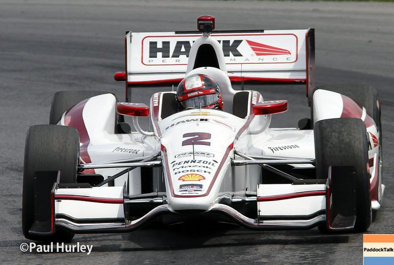 August 1-3: Juan Montoya at the Honda Indy 200 at Mid-Ohio.