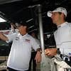 August 1-3: Jimmy Vasser and Sebastien Bourdais at the Honda Indy 200 at Mid-Ohio.