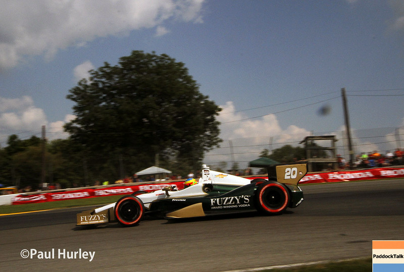 August 1-3: Mike Conway at the Honda Indy 200 at Mid-Ohio.