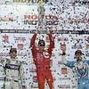 August 1-3: Sebastien Bourdais, Scott Dixon and James Hinchcliffe at the Honda Indy 200 at Mid-Ohio.