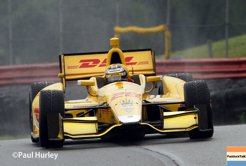August 1-3: Ryan Hunter-Reay at the Honda Indy 200 at Mid-Ohio.