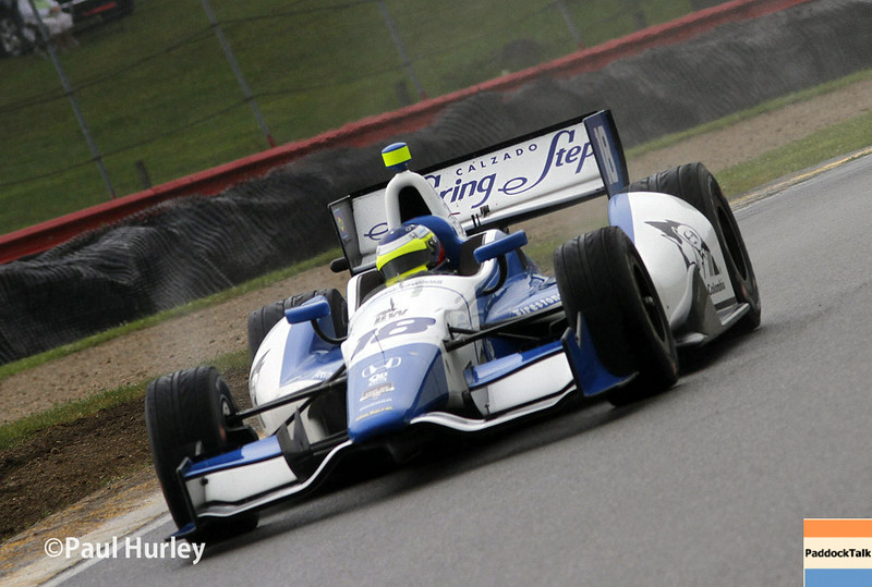 August 1-3: Carlos Huertas at the Honda Indy 200 at Mid-Ohio.