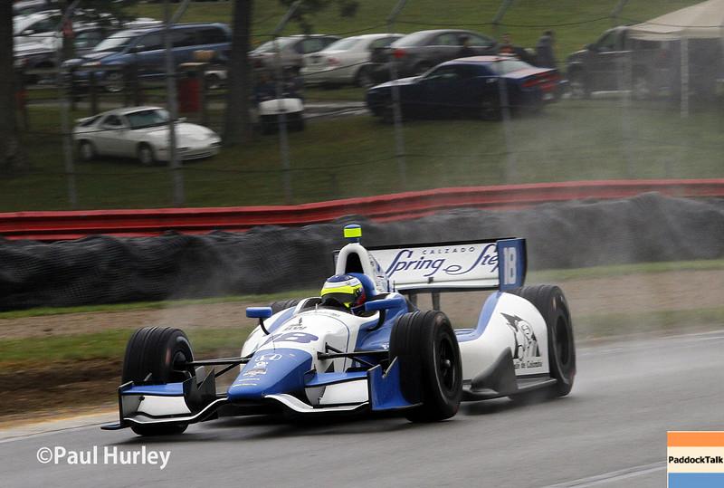 August 1-3: Carlos Huertas at the Honda Indy 200 at Mid-Ohio.