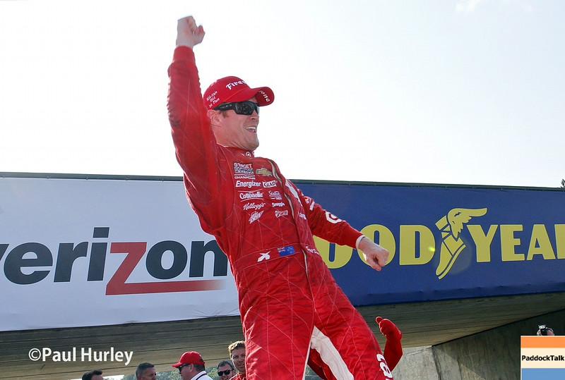 Scott Dixon wins at Sonoma to win the 2015 IndyCar championship!