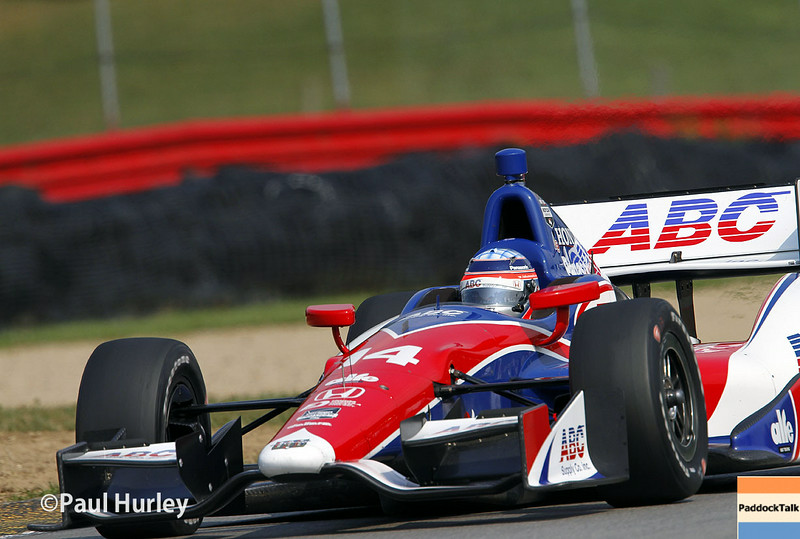August 1-3: Takuma Sato at the Honda Indy 200 at Mid-Ohio.